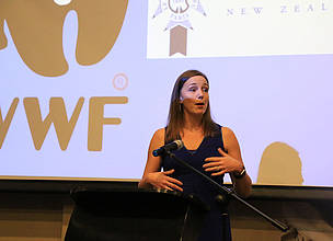Livia Esterhazy, CEO of WWF-New Zealand